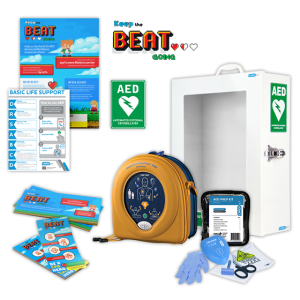 350P Package Deal includes Defib and accessories